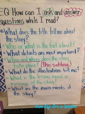 Context Clues Anchor Chart 2nd Grade  So, Too, Neither