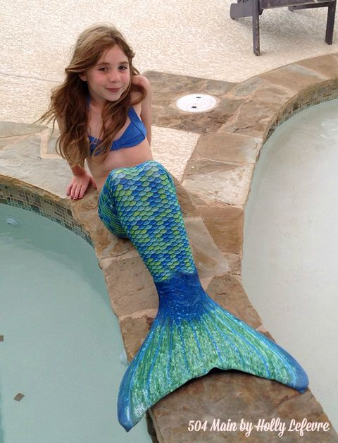modeling a mermaid tail