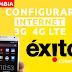 Configurar Internet APN 3G/4G LTE Exito Colombia 2018
