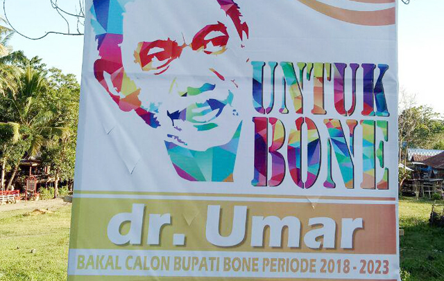 dr Umar, Pilkada Bone