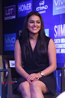 Actress Shraddha Srinath Stills in Black Short Dress at SIIMA Short Film Awards 2017 .COM 0052.JPG