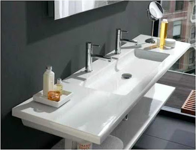 Tips and Ideas Bathroom Two Sink Plumbing
