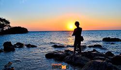 sunrise di pantai bama baluran