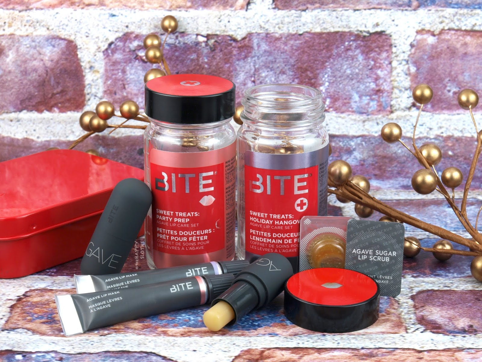 Bite Beauty | Holiday 2018 Sweet Treats Agave Lip Care Set: Review and Swatches