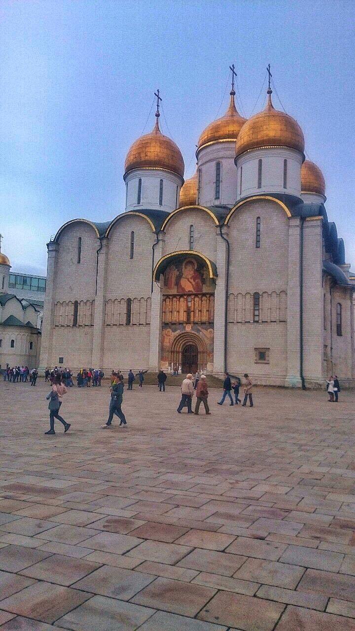 Catedral no Kremlin - Moscou