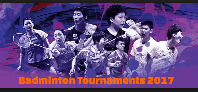 world,  Badminton,  tournaments, championships,  winners,  list,  2017.