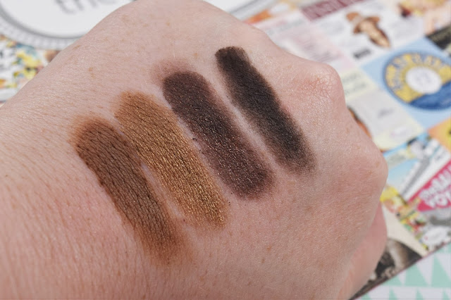 The Balm Nude'Tude Eyeshadow Palette Swatches