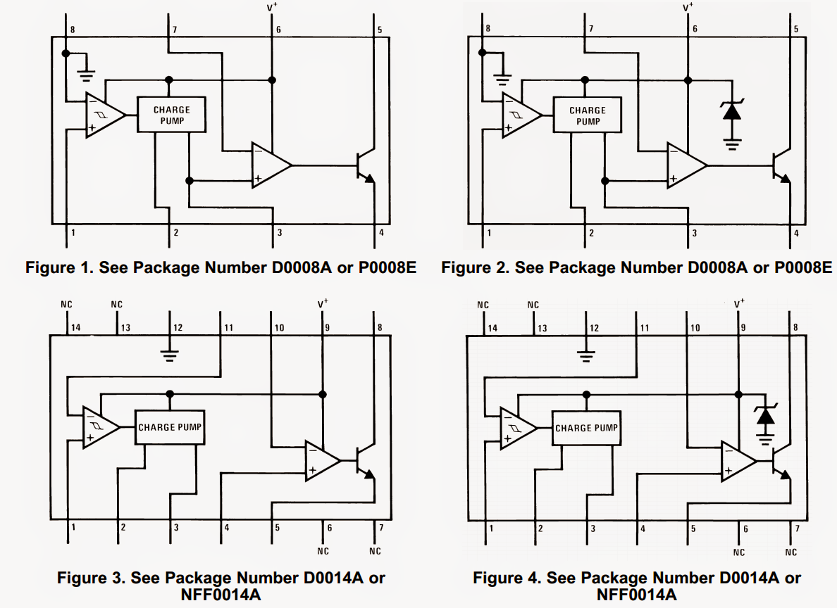 tachometer circuit with hysteresis