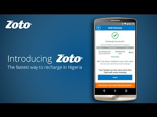 Zoto App: How To Get #1000 Airtime From Zoto Recharge Application [Zoto Apk Download} price in nigeria