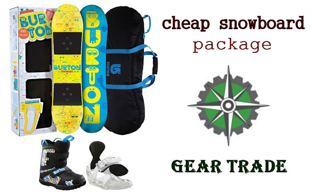 cheap snowboard package