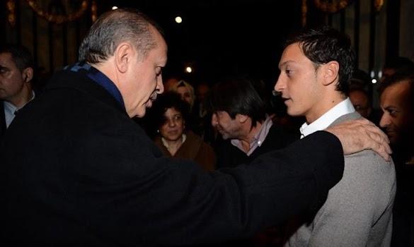 Presiden Erdogan Berbincang dengan Mesut Oezil, Ini yang Dibicarakan
