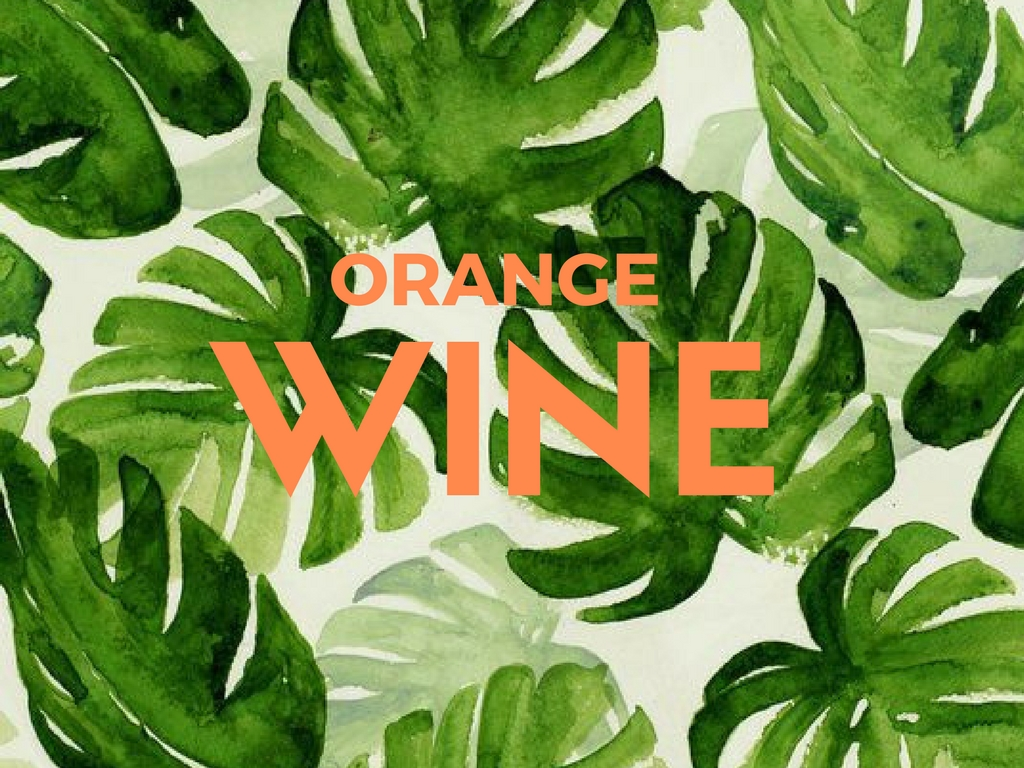 What is Orange WIne