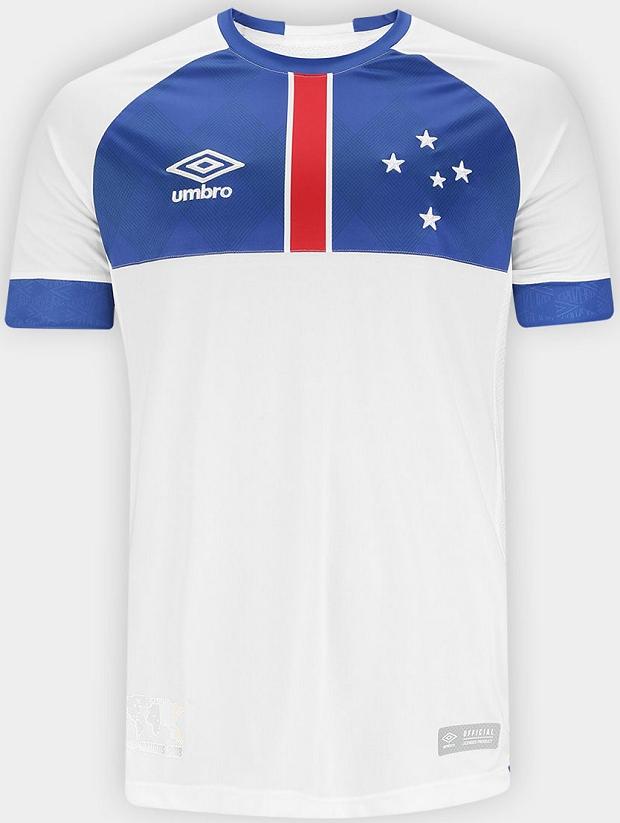 e445b8f6cd9a4 Umbro lança a nova camisa reserva do Cruzeiro - Show de Camisas