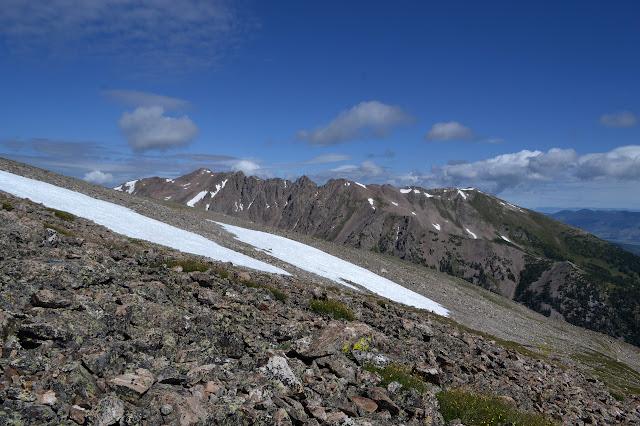 Red Peak area