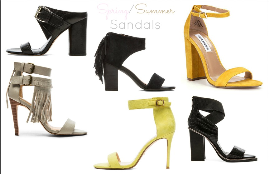 Affordable Sexy Sophisticated Spring and Summer High Heel Sandals Under $100