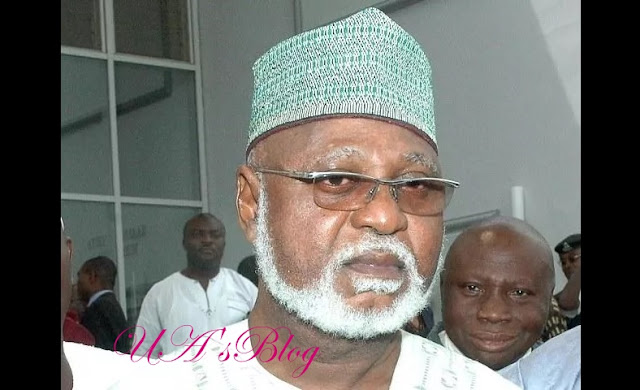 "Elections: ""I am disappointed in the sudden postponement""- Gen. Abdulsalami"