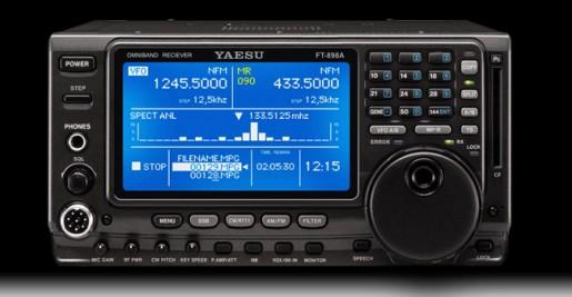 KD8BIG: YAESU HF/VHF/UHF Transceiver FT-898A