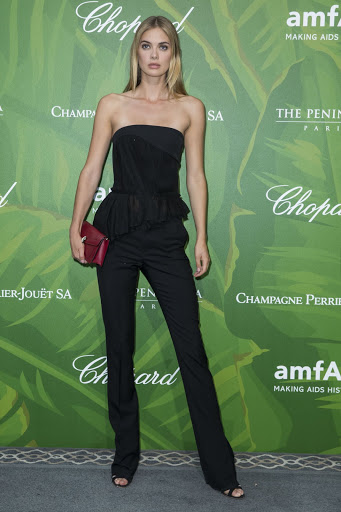 Megan Williams best red carpet fashion dresses photo