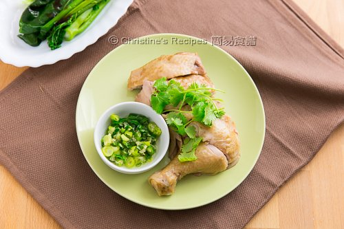 貴妃雞 Poached Chicken Leg in Spicy Sauce02