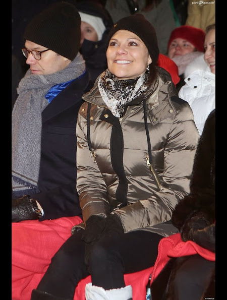 Princess Victoria and Prince Daniel of Sweden attended the Holocaust memorial event
