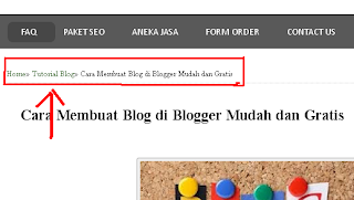 Cara Baru Membuat Breadcrumbs Terindeks Google Seo Friendly