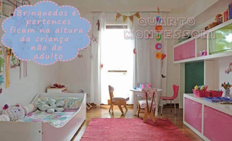 decoração de quarto de menina montessori