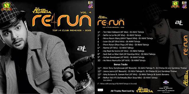 ReRUN VOL.4 NON STOP REMIX – DJ AKHIL TALREJA