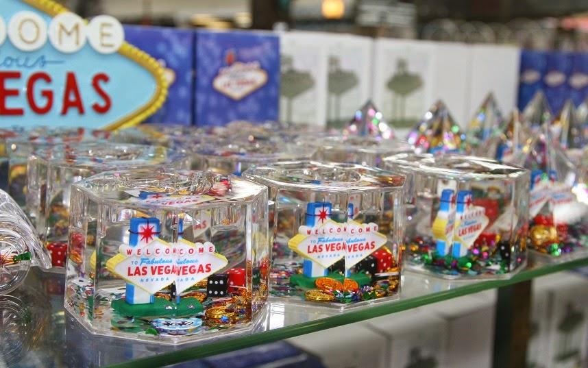 presentes e souvenirs em Las Vegas