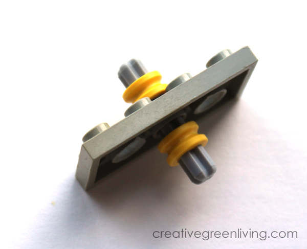 How To Make A Diy Fidget Spinner With Legos Creative Green Living
