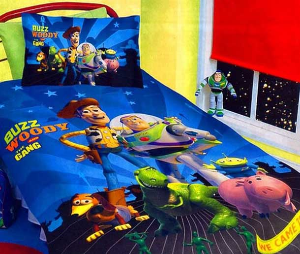 Superhero Bedding Theme For Boys Bedroom Interior