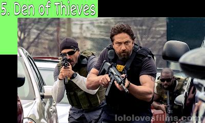 Den of Thieves 2018 movie Gerard Butler