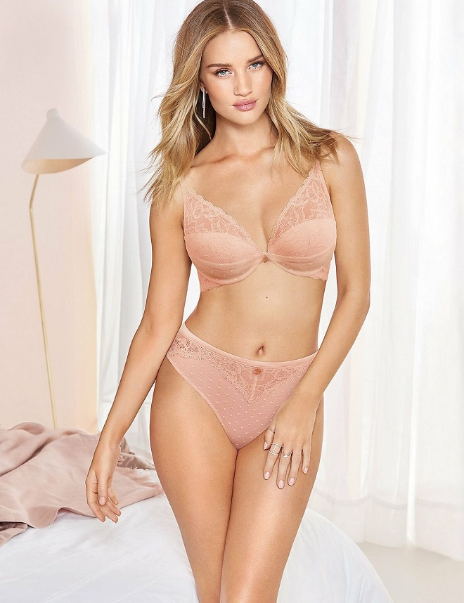 Rosie Huntington-Whiteley – Autograph Lingerie 2019 Collection Photoshoot