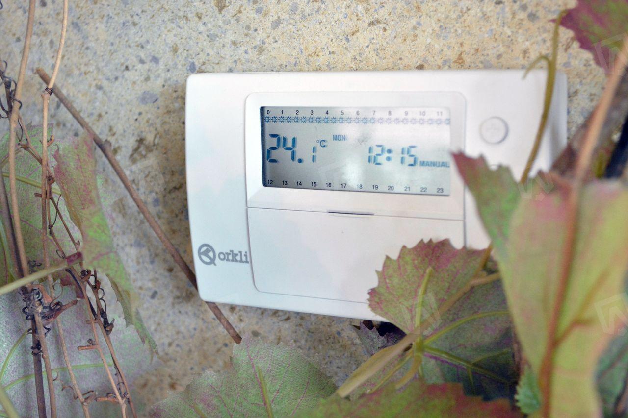 Настенный термостат Orkli для регулирования температуры водяных тёплых полов