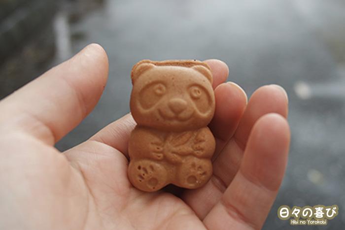 gaufre panda ueno parc hanami
