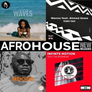 "AFRO HOUSE ""NEW RELEASES"" BY Música Em Destak"