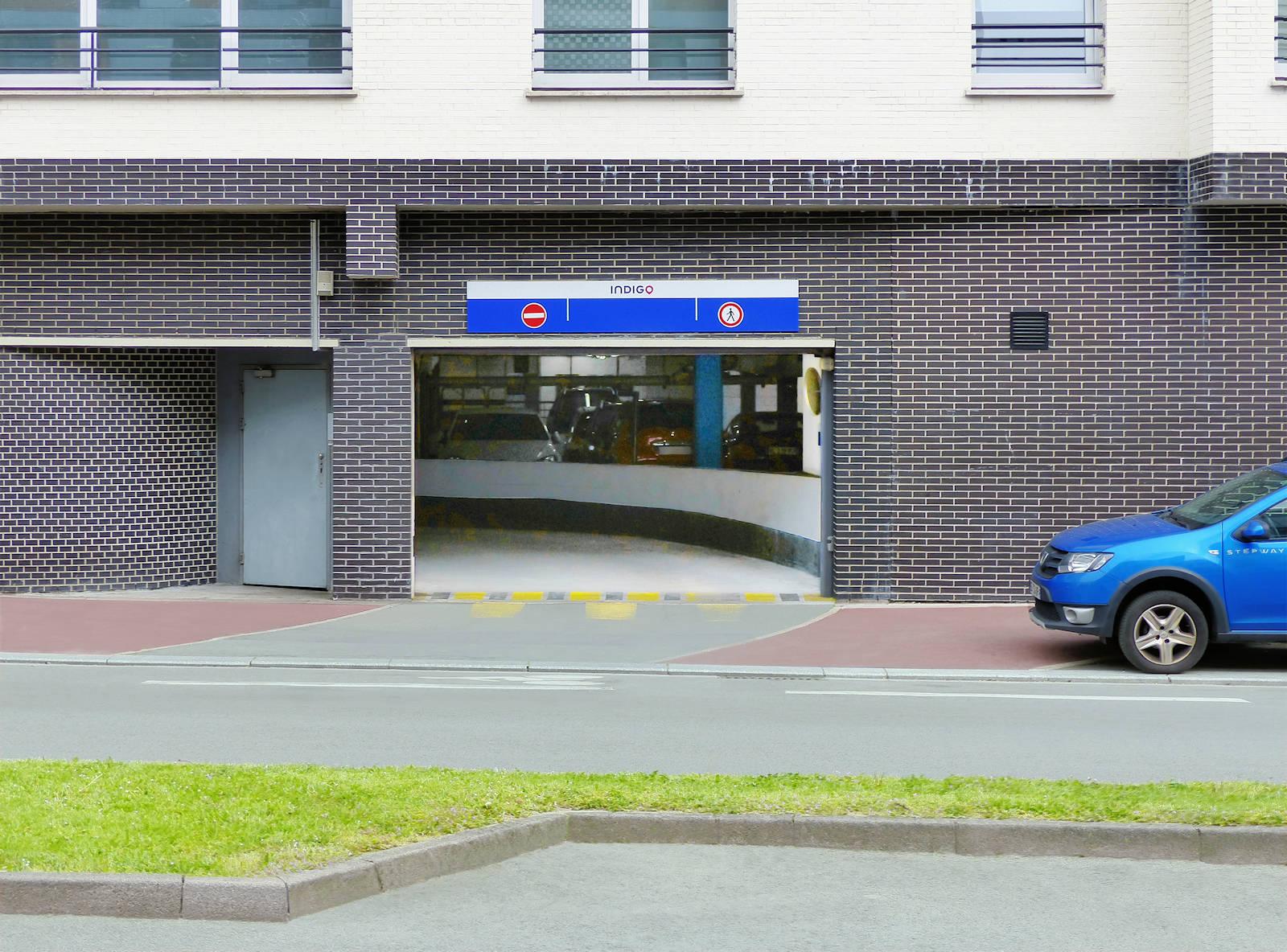 Parkings et Stationnement Tourcoing - Parking Cavell Indigo