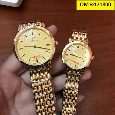 Đồng hồ đeo tay cặp đôi Omega OM Đ171800