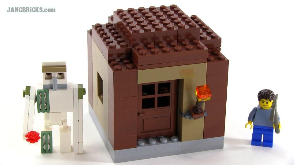 Minecraft Lego House LEGO Minecraft Iron Golem