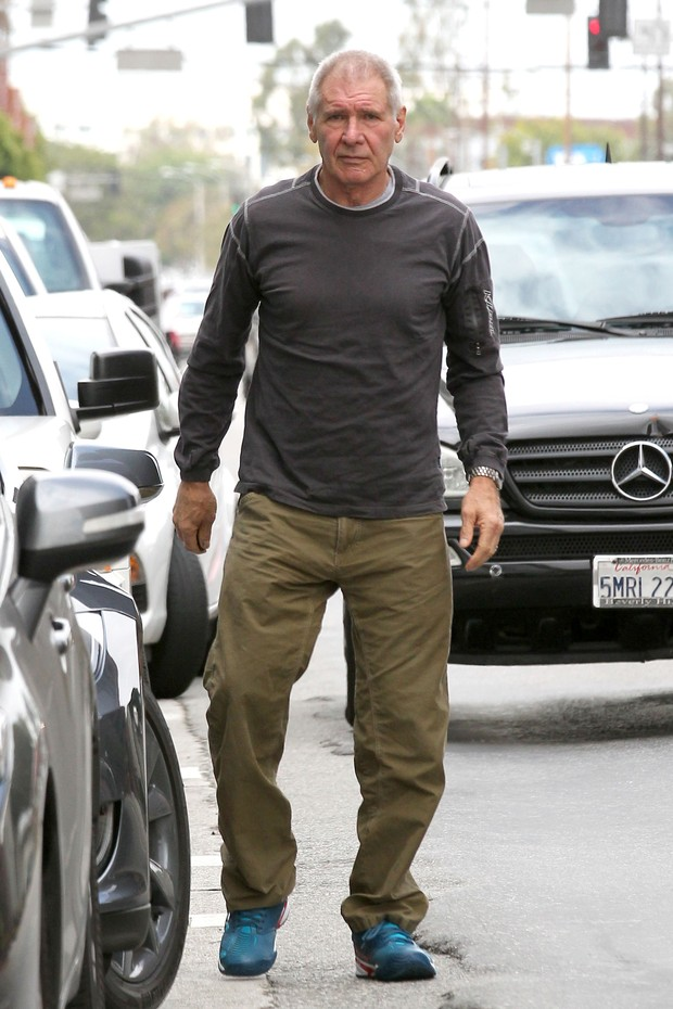 Harrison Ford of the accident