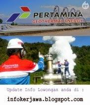 Lowongan Kerja BUMN Pertamina GE (Geothermal Energy)