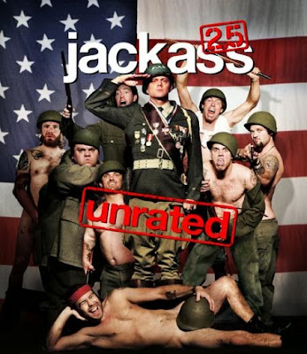 Poster Of Hollywood Film Jackass 2.5 (2007) In 300MB Compressed Size PC Movie Free Download At worldfree4u.com