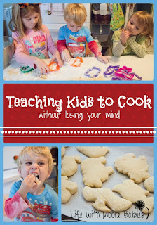 Teaching My Kids to Cook Without Losing My Mind