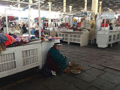 Mercado de San Pedro. Cuzco. Perú