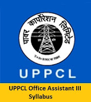 UPPCL Office Assistant Syllabus