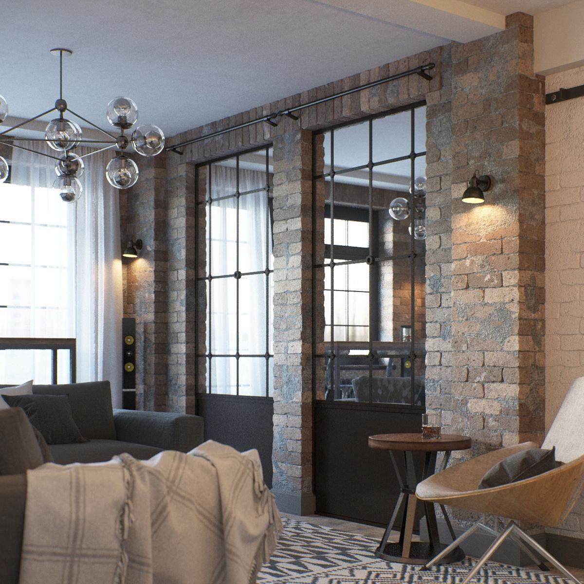 Projects propuesta de dise o de apartamento tipo loft for Consola de tipo industrial