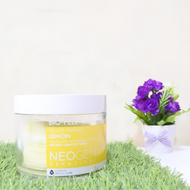 Review Neogen Bio Peel Peeling Gauze Lemon