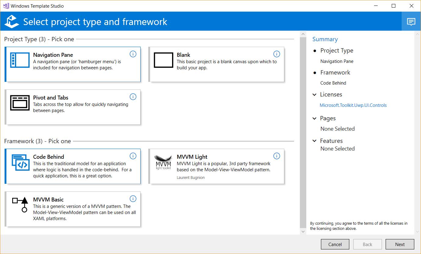 Create UWP apps with VB Net and Windows Template Studio ~ Matt