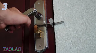 Tutorial Cara Membuat Kunci Pintu dari Garpu