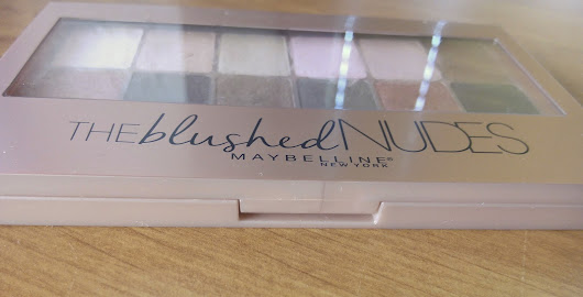 DZANNICA: The Blushed Nude Palette Maybelline | REVIEW