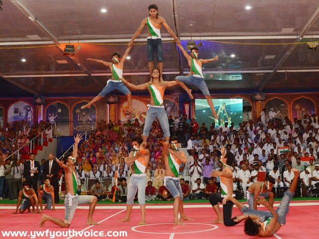 TRL Grand Opening - Cultural Program Tiranga Rumal Chu League Rumal Chor Game Desi Indian